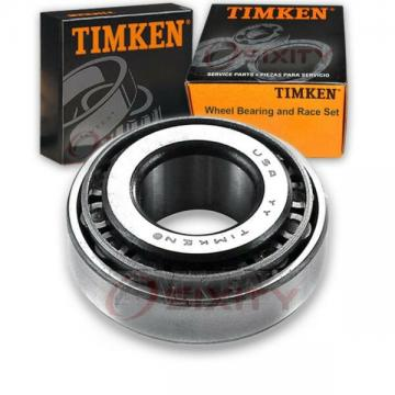 Timken Front Outer Wheel Bearing & Race Set for 1965-1974 Plymouth Satellite zx
