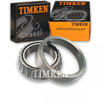 Timken Rear Differential Bearing Set for 1988-1991 GMC Jimmy  cv