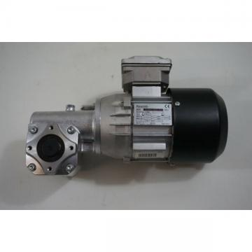 Rexroth Three-Phase Motor 3 842 503 783 and Angle Gear 3 842 527 869
