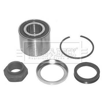 PEUGEOT 106 Mk2 1.5D Wheel Bearing Kit Rear 99 to 04 B&B 374839 Quality New
