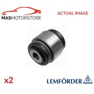 2x 14711 01 LEMFÖRDER LOWER CONTROL ARM WISHBONE BUSH PAIR I NEW OE REPLACEMENT