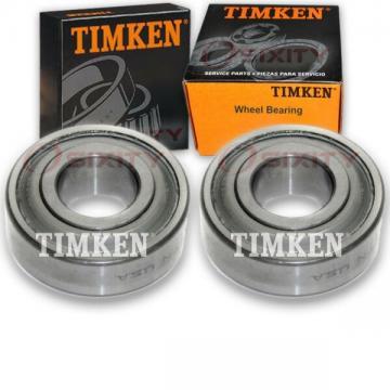 Timken Front Wheel Bearing for 2010-2014 Honda Insight Pair Left Right ht