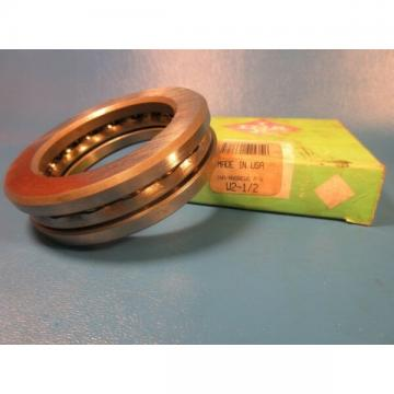 INA W2 1/2 Grooved Race Thrust Bearing, Single Row (FAG Schaeffler, Andrews) USA
