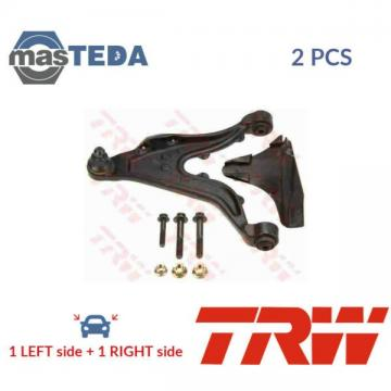 2x TRW FRONT LH RH TRACK CONTROL ARM PAIR JTC917 P NEW OE REPLACEMENT