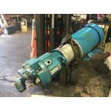 Rexroth Hydraulische Pump, A10v16dr1rs4, W/1.5 hp Leeson Ac Motor, Gebraucht